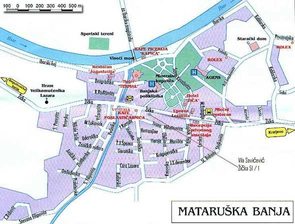 Mataruska Banja Banje U Srbiji