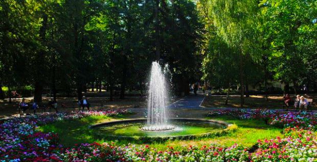 centralni park u sokobanji