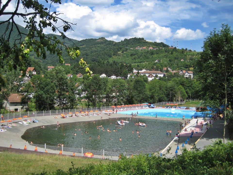 bazen jezero