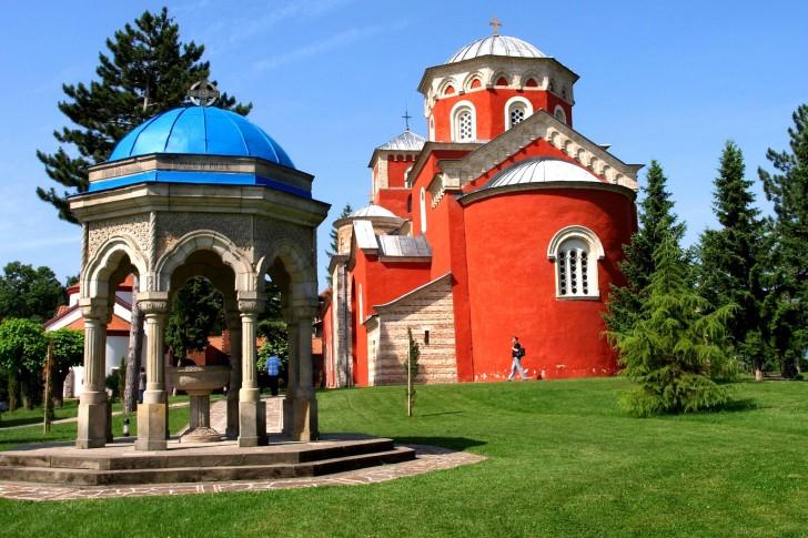 manastir Žica srbija bogutovacka banja