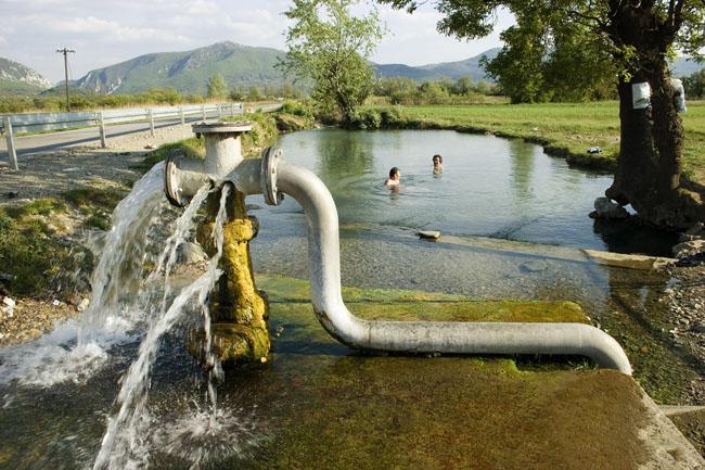 mineralna voda lekovita voda ždrelo