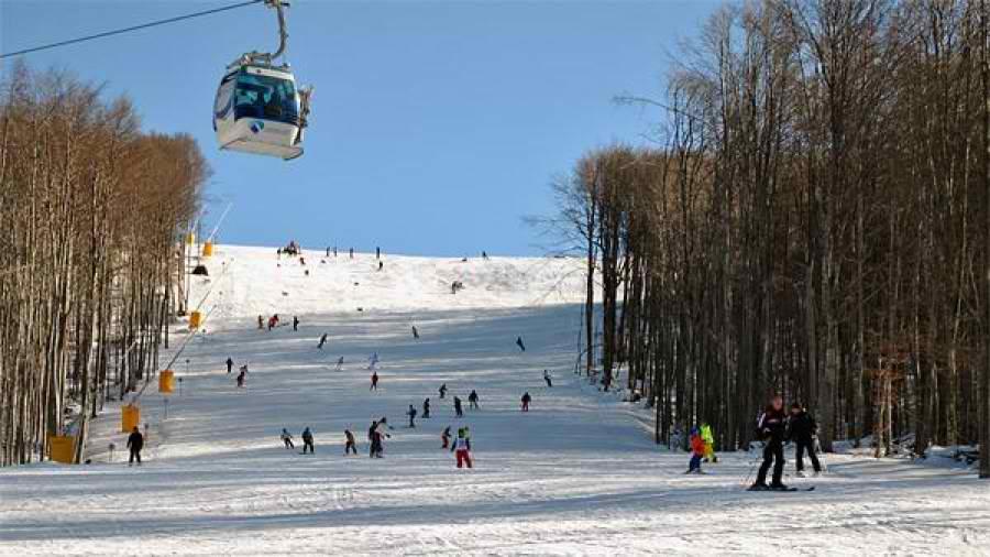 stara planina skijanje staze slike